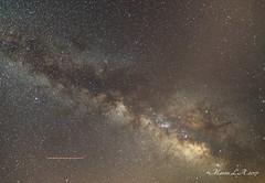 Vía Láctea centro (breijar - MARCOS LOPEZ ALONSO) Tags: milkiway milki way vía láctea estrellas stars cielo nocturno nocturna largaexposición longexposure long exposure larga exposición centro galáctico galaxy center belleza tranquilidad sky summer