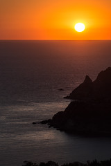 capo vaticano (pat.netwalk) Tags: calabria capo vaticano capovaticano sunset dawn kitsch light sun copyrightpatrickfrank bildgutch