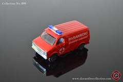 No. 899   PLAYART   Custom Van Paramedic (www.diecastfirecollection.com) Tags: diecast metal model toy emergency fire feuerwehr bomberos pompiers fuoco department fd 164 collection playart custom van paramedic