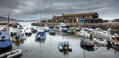 Lyme Regis Harbour (clive_metcalfe) Tags: harbour lymeregis dorset uk boats thecobb