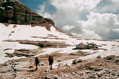 . (Careless Edition) Tags: photography film mountain nature italy sella plateau boé hut alps dolomites südtirol dolomiten