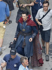 UHQ Avengers: Infinity War Set Pictures (anythingdoctorstrange) Tags: avengers infinity war atlanta usa 28 jun 2017 cast members benedict cumberbatch works during filming set is modeled after a new york city street celebrity entertainment arts united states north america georgia 60710714 benedictcumberbatch markruffalo avengersinfinitywar robert downey jr
