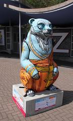 Dharma (ahisgett) Tags: birmingham children's hospital charity wild art big sleuth 2017 bearmingham bear sculpture street