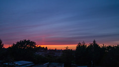 Sunset tonight at Wyken Weather (boddle (Steve Hart)) Tags: sunset wyken weather galaxy samsung s6 nature natural wild wilds wildlife