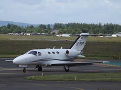OE-FDT Cessna Citation Mustang 510 GlobeAir (Aircaft @ Gloucestershire Airport By James) Tags: gloucestershire airport oefdt cessna citation mustang 510 globeair bizjet egbj james lloyds