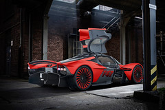 Aston Martin Valkyrie Red Fury (Nike_747) Tags: naksphotographydsign aston martin valkyrie red fury amrb 001 nebula supercar hypercar super hyper car sportscar sport class exotic rare luxury color auto limited edition roadlegal racing race mode box hangar garage wingsup bricks loft light ray window carbon fiber v12 kers