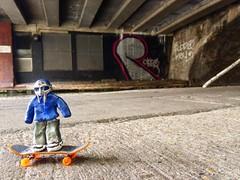 @TheRingOfDoom At Banksy vs. Robbo Site In Camden (206liz) Tags: theringofdoom mfdoom banksy robbo kingrobbo mf doom streetart london camden history bbcdocumentary