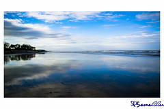 Reflection (Pabitra Samadder) Tags: reflection coxsbazar double beach