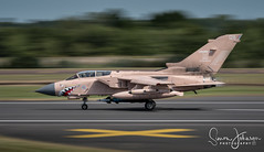 """ X Marks The Spot "" (simonjohnsonphotography.uk) Tags: tornado nikonaviation aircraft nikon riat 12bsquadron airshow pinky raf riat2017 operationgranby aviation rafmarham simonjohnsonphotography panning jet tonka"