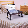 SONGMICS Bamboo Laptop Desk (Songmics_US) Tags: bamboo laptop desk use bed sofa knee