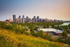 Downtown Calgary (Sotitia Om Photography) Tags: downtown calgary alberta canada sunset albertacanada landscape teamcanon sotitiaomphotography khmerphotographers canonusa canon6d wideanglelens cityscape