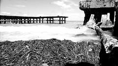 """Sea """"Golfo de México"""" (MGarteMG) Tags: blackandwhite blancoynegro bnw bw mar sea discover méxico campeche latinoamerica golfo golfodemexico latinamerica texture"""