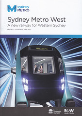 Metro Sydney - Introductory publicity for Sydney Metro West (john cowper) Tags: sydneymetro metrowest sydney parramatta consultations planning booklet publicity transportfornewsouthwales infrastructure project newsouthwales