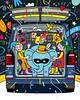 Volkswagen Multivan for Volkswagen Magazine (suzy_yes) Tags: maria zaikina volkswagen multivan illustration circus children family fun advertising