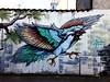 Mural (Jaedde & Sis) Tags: mural art aarhus wall phone graffiti friendlychallenges sweep pregamewinner 15challengeswinner