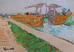 Pont de Langlois - Arles - Van Gogh - 1888_0 (Luc II) Tags: vangogh arles pontdelanglois