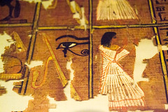 Watched (Stray Toaster) Tags: cambridge fitzwilliam museum egyptian book dead papyrus ramose