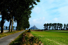 Mont Saint Michel, France - amazing city built on a lone granite outcrop (christina funderburg thomas) Tags: france rocamadour southernfrance medieval castle chateau chambord chenonceau normandy tuscany paris garden scenic river siene riverseine riverboat eiffeltower dome cityoflovebridgenotre damecliffcruisesainte chappellcathedralparis 2017