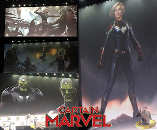 Captain Marvel Concept Art + New Details Released!