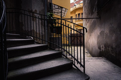 Deep inside Belgrade (Master Iksi) Tags: belgrade beograd serbia srbija oldstreet architecture stairs building view concrete nikond7100 sigma1750