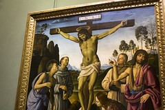 Crucifixion with Saints (Ray Boone) Tags: uffizi gallery florence firenze italy renaissance art crucifixion with saints pietro perugino luca signorelli uffizigallery