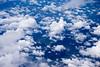 雲 (a15242363) Tags: 晴天 天空 白雲 sky 雲 飛機 河流