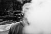 Lost In The Smoke (Stoyan_Slavkov) Tags: day guys out side outside blackandwhite black white cigarettes smoking smoke