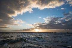 Sunrise (Fab Boone Photo) Tags: sunrise sun sea seascape britain france morning blue yellow fabienboone fabboone