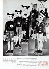 1936-37 Mickey Mouse Merchandise 13 (Tom Simpson) Tags: 1936 1937 1930s vintage disney mickeymouse costume halloween