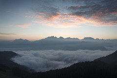 ...on your way to heaven... (STEPtheWOLF) Tags: heaven sky clouds mountain scape fog sea sunrise austria salzburg lofer canon 5d3 1740l