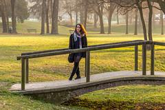 Sorrisi (Madelung11) Tags: girl ragazza ritratto portrait sunset tramonto parco park happiness canon torino pellerina goldenhour