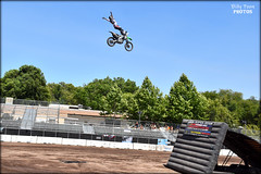 FMX Freestyle Motocross - Cliffhanger (billypoonphotos) Tags: cliffhanger alameda county fair fairgrounds pleasanton keithsayers freestyle motocross fmx jumps stunts street bikes billypoon billypoonphotos photo picture photography photographer nikon d5500 nikkor 18140mm tricks nickdunne
