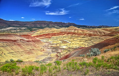 Painted Hills, Oregon, I (louelke - off and on for a while) Tags: paintedhills oregon johndayfossilbeds nationalmonument colors colorful