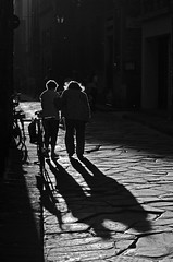 helping friend (sharkoman) Tags: women people street shadow firenze