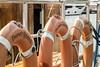 three queens (Mark Rigler -) Tags: three bouys life savers belt ring boat ship sea water orange