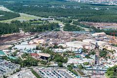 Disney's Hollywood Studios (CChard) Tags: aerial disney disneysprings disneyworld hollywoodstudios resort starwars toystory typhoonlagoon helicopter epcot espn sports stadium theme park
