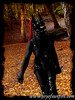 Joy of Sunfire - Set 12 Warrior - 1100029 25p (joyofsunfire) Tags: ponyplay petplay petgirl humanpony joyofsunfire joy sunfire set12 warrior beckedorf sword swords katana ninja latexhooves latexmask latex latexmodel fetish fetishmodel lycra spandex skintight catsuit ponyboots hoofboots ponygirl