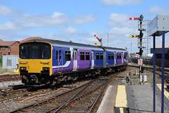 NT 150150 @ Blackpool North (ianjpoole) Tags: northern rail class 150 sprinter 150150 rear 2h06 blackpool north hazel grove