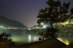 View from Dinner table the other day in Rishikesh