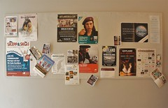 posters at the history museum (kendradrischler) Tags: visby museum posters
