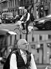 [La Mia Città][Pedala] con il bikeMi (Urca) Tags: milano italia 2017 bicicletta pedalare ciclista ritrattostradale portrait dittico bike bicycle nikondigitale scéta biancoenero blackandwhite bn bw 102652 bikemi bikesharing