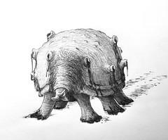 Poisonous (Marcos Telias) Tags: illustration dibujo ballpoint pen art sketch drawing ponzoña veneno venom poison monster monstruoso monstruo ilustración boceto bosquejo arte artista artist bolígrafo lápiz fantasy