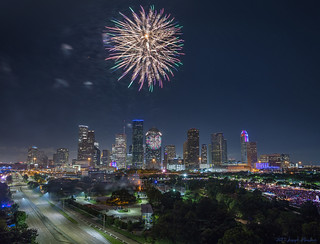 Houston 4th of July 2017 Fireworks