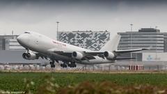 Kalitta Air 747-4F leaving Amsterdam (Nicky Boogaard) Tags: boeing airbus aviation dmaviation aircanada klmcityhopper aa americanairlines kalittaair deltaairlines 787 dreamliner easyjet a319 747 freigther 747400 777200 77w 7878 7879 embrear e175 jetairways united keniaairways