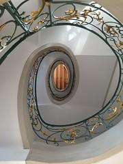 green & gold (nikita79_2000) Tags: stairs spiral green gold escaleras espiral hackerscher höfe berlin