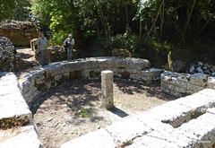 0014 Eastern Wall,  Gate, Butrint (3) (tobeytravels) Tags: albania butrint buthrotum illyrian easternwall