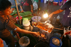barbeque or satay (DOLCEVITALUX) Tags: philippinebarbeque satay sate barbeque bbq philippines panasoniclumixlx100 lumixlx100 food grilledfood meat seafood eat streetpassionaward