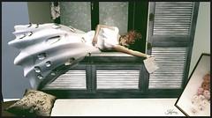 From the Letter... (Kaylahny) Tags: sl secondlife slstories goodbye leaving whitedress comharstudio slstorytelling