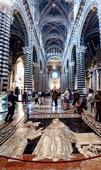 Siena Duomo (López Pablo) Tags: duomo siena tuscany italy church mosaic architecture nikon d90
