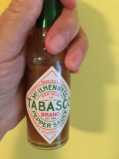 THE WHEELS ON TABASCO ROUND AND ROUND